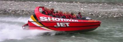 Shotover jet boats