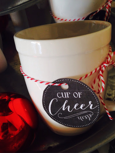 Hot chocolate bar, cup of cheer