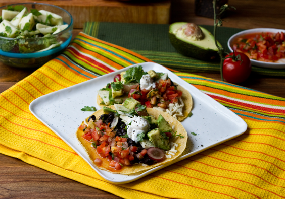 Fun vegan tacos and mexican fiesta recipes mexican food forumfinder Images