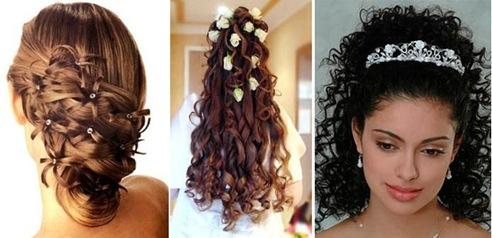 Peinados Faciles Pelo Largo Y Rizado