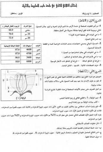 اختبار الثلاثي الثاني في العلوم للسنة 1 ثانوي علوم تجريبية 11.jpg