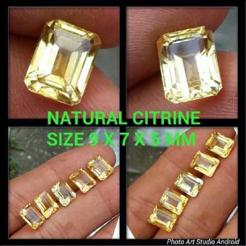 Natural Citrine