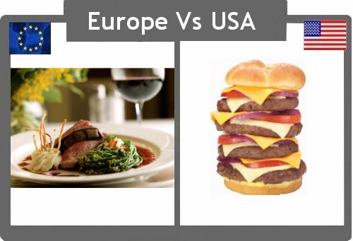10 perbedaan Amerika dengan Eropa