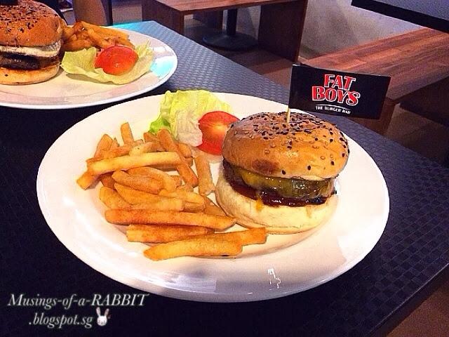 FATBOY's The Burger Bar, Katong