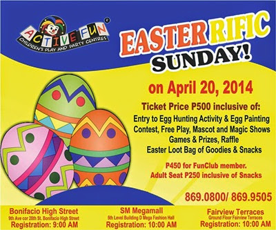 announcement, events, Easter, Easter activities for children, Easter 2014