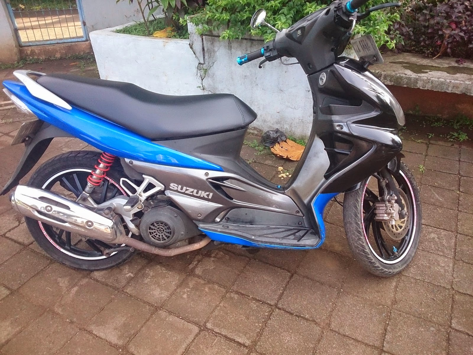 Modifikasi Suzuki Nex Ring 17