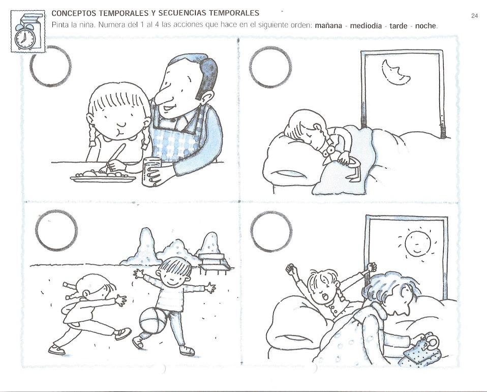 1000 images about thema dag en nacht kleuters preschool for Actividades para jardin de infantes para imprimir