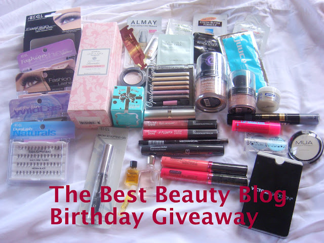 The Best Beauty Blog 1st Birthday Giveaway