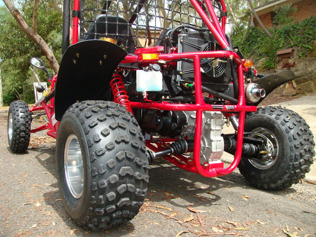 250cc GK Kandi Shaft Drive Independent rear suspension Alloy Wheels Rims Offroad Dune Buggy Go Cart