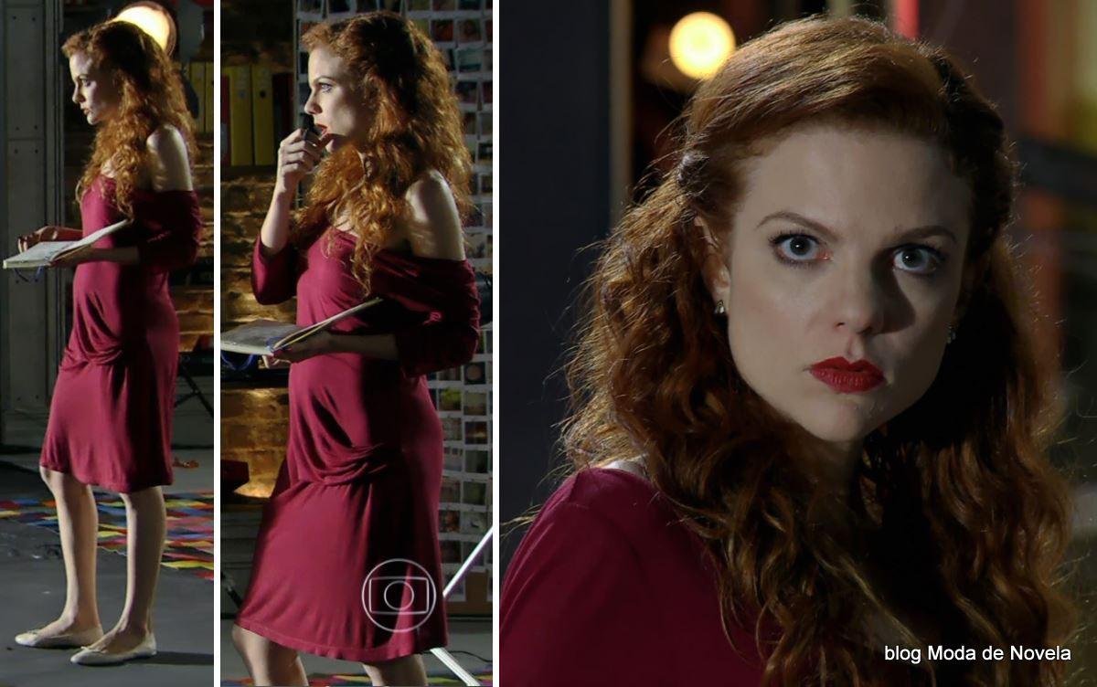 look da Vanessa na novel Em Família