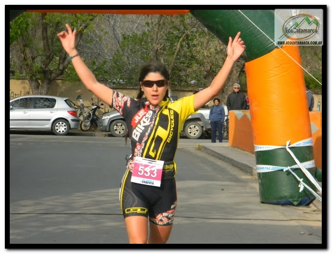 Pilar Corbalan ganadora entre las damas