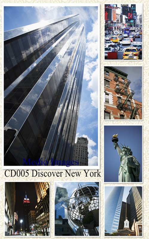 Medio Images: CD005 Discover New York