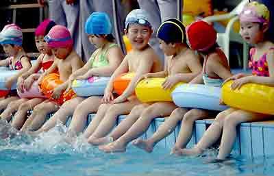 兒童運動 - 游泳
