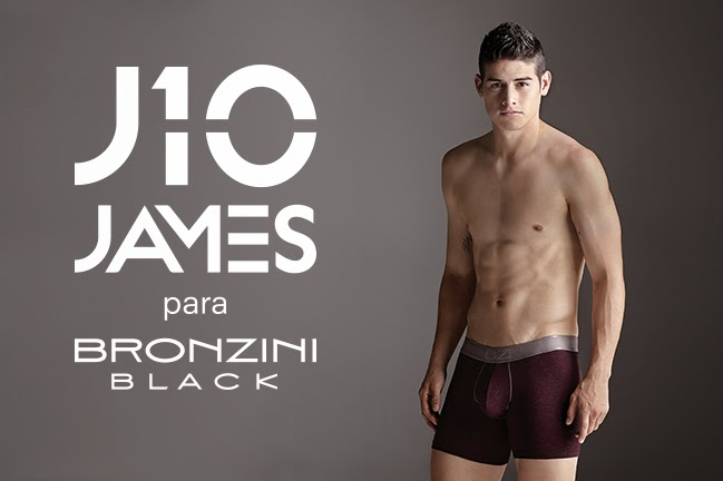 James Rodriguez ya tiene su propia marca de Underwear
