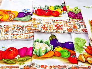 semaninha com pintura de legumes