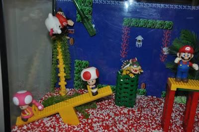 Mario fish tank hot girls wallpaper for Mario go fish