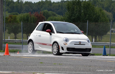 Fiat 500 Abarth braking