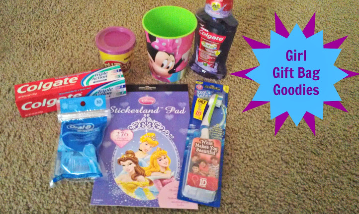 Champions for Kids SIMPLE Service Project - Girl Donations #Spinbrush4Kids
