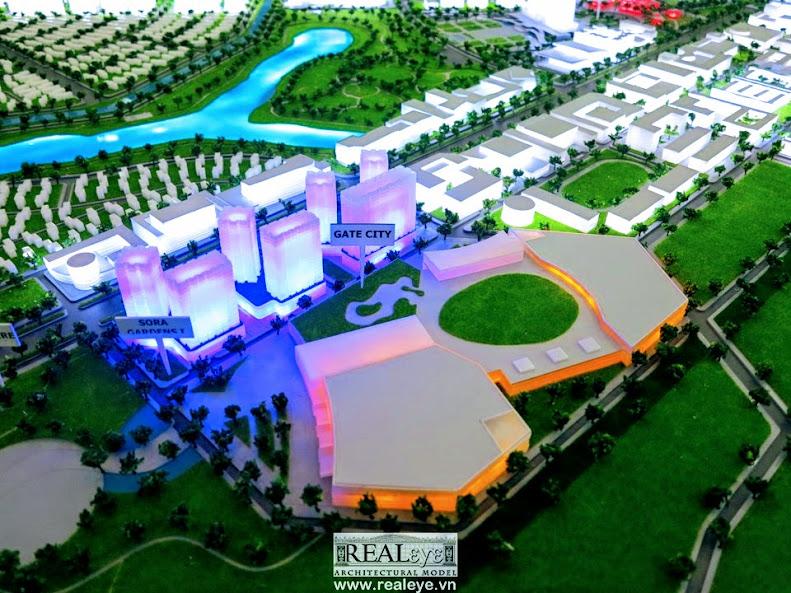 Mô hình kiến trúc REALEYE - Tokyu Bình Dương Garden City