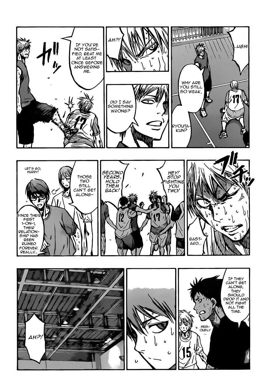 Kuroko no Basket Manga Chapter 211 - Image 08