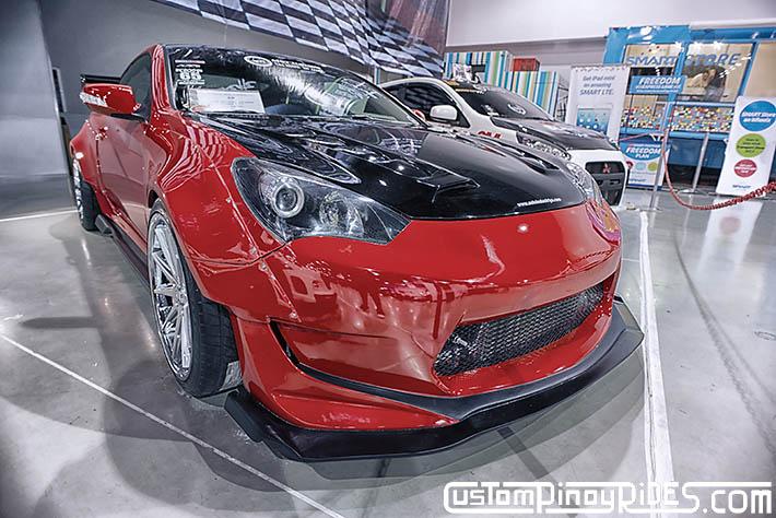 Hyundai Genesis Coupe Amuse Vestito Rocket Bunny Atoy Customs Trans Sport Show Philip Aragones pic8