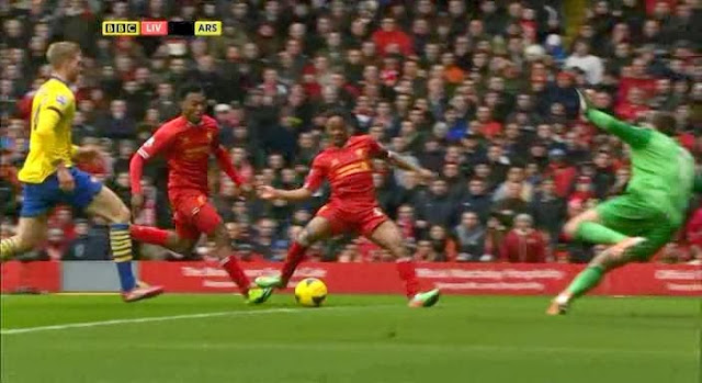 Sterling, Liverpool - Arsenal