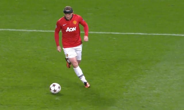 Rooney, Manchester United - Bayer Leverkusen