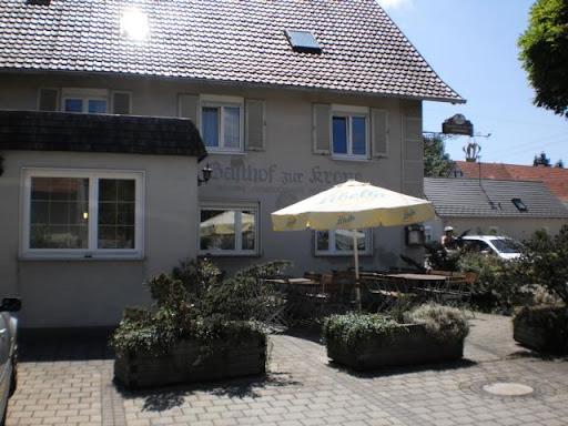 Beim Essen in Steinheim