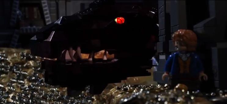 #哈比人的歷險記:「樂高」也來演繹「荒谷惡龍」篇! 13