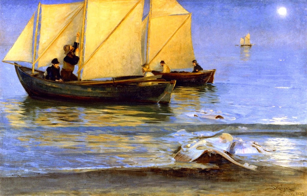 Peder Severin Krøyer - Fishing Boats