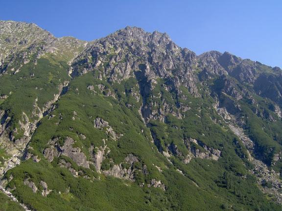 Wołoszyn widziany z Dol. Roztoki, fot. Tatrografia