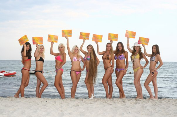 holiday Miami Girls Bikini Beach