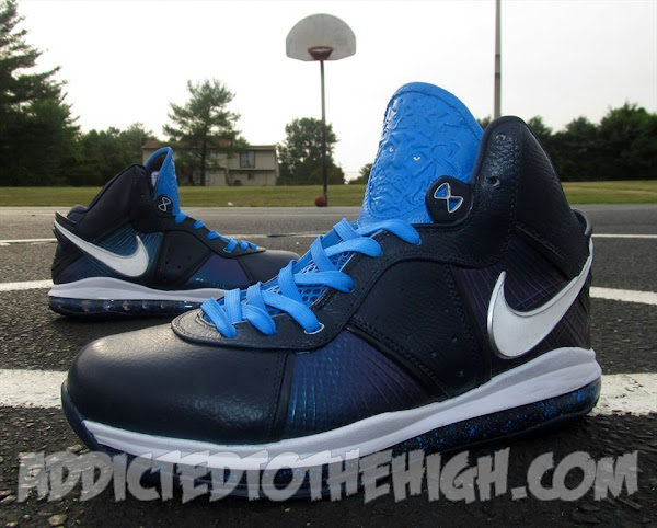 Nike LeBron 8 V1 Miami amp Dallas 8220Grand Finale8221 Customs