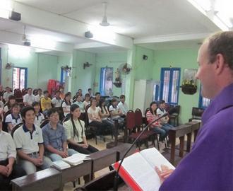 Buổi gặp mặt đầu năm Quý Tỵ của nhóm Giới trẻ Phát Diệm Miền Nam