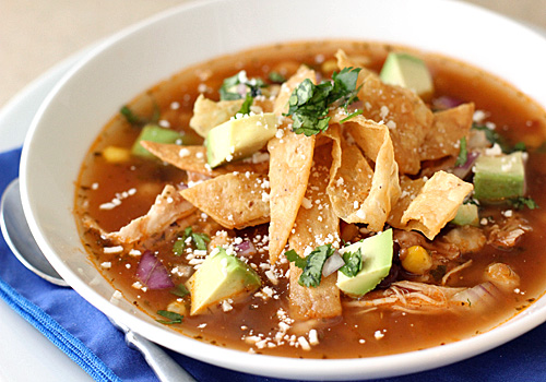 The Galley Gourmet: Chicken Tortilla Soup