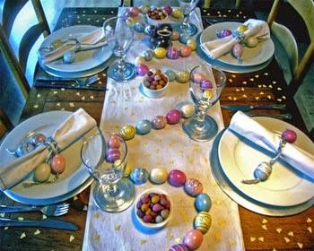 Mestoli impazziti la tavola di pasqua - Tavola imbandita per pasqua ...
