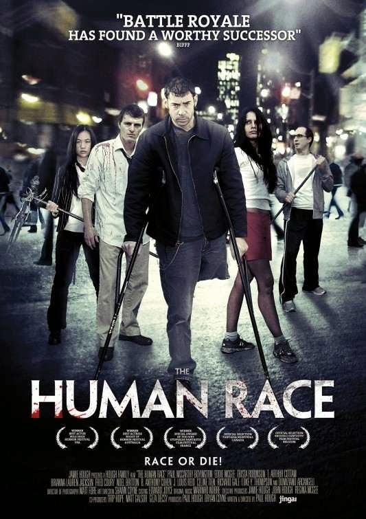 Poster Of English Movie The Human Race (2013) Free Download Full New Hollywood Movie Watch Online At Alldownloads4u.Com