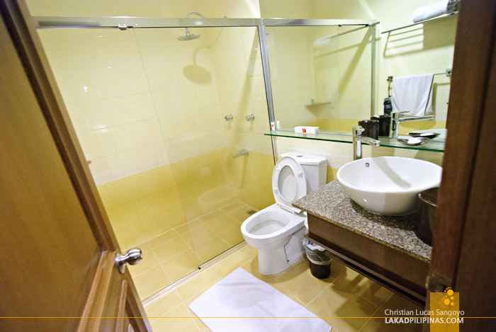 Clean and Comfy Restrooms at the Venezia Hotel in Legazpi City