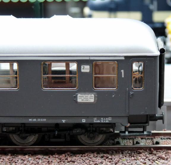 Roco 4284B: rijtuig 1e klas van de FS