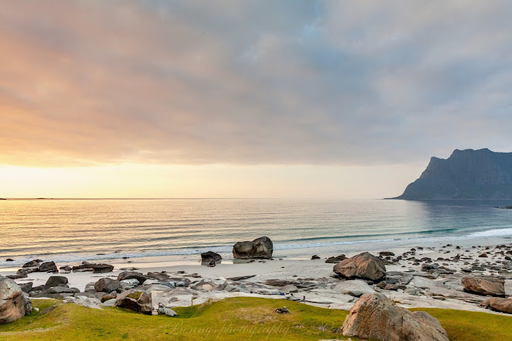 Gorgeous scenery in Lofoten, Norway. Photographer Benny Høynes