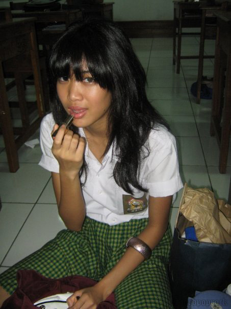 Foto Aktivitas Widi Vierra di Sekolah