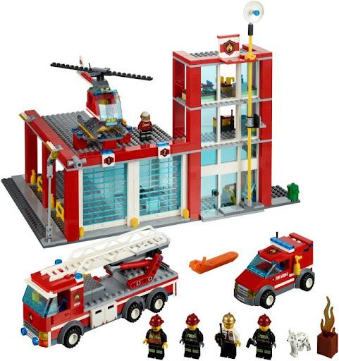 60004 レゴ ファイヤーステーション
