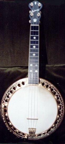 Ludwig gold plated Banjolele banjo Ukulele