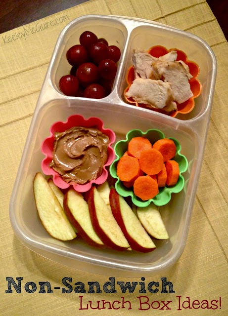 Non-Sandwich Lunch Ideas