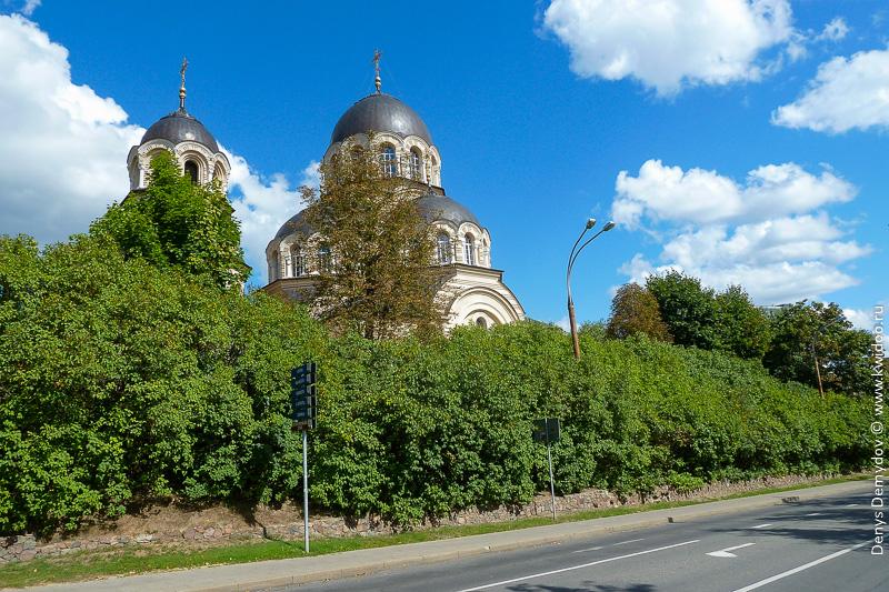 Православная церковь святой Девы Марии в Вильнюсе