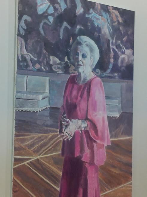 La Reine Béatrix, vue par Luc Tuymans