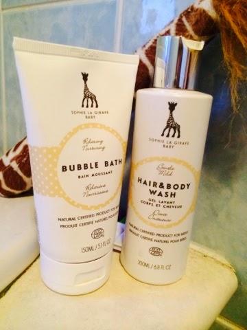 Sophie La Girafe Cosmetics Skincare Range Bubble Bath
