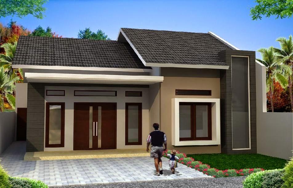 contoh model rumah terbaru gallery taman minimalis