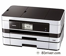 Get Brother MFC-J4910CDW printer's driver, study how to install
