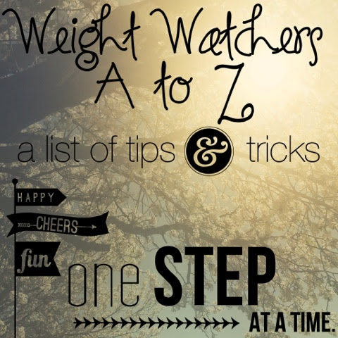 weight watchers a to z